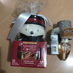 Yankee candle sparkling cinnamon Christmas